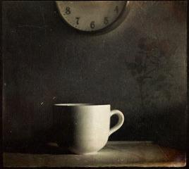 Clock&cup