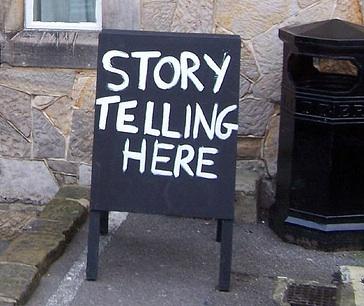 Storytelling here