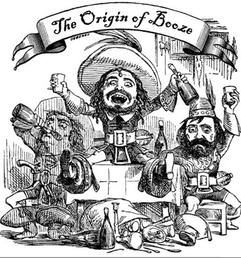 Booze origins