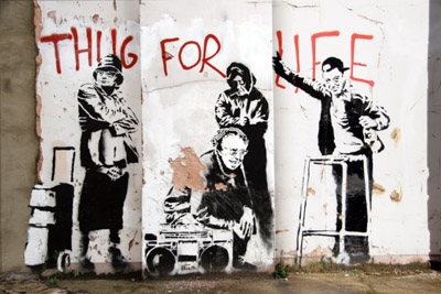 Banksy_elderly_thug_for_life