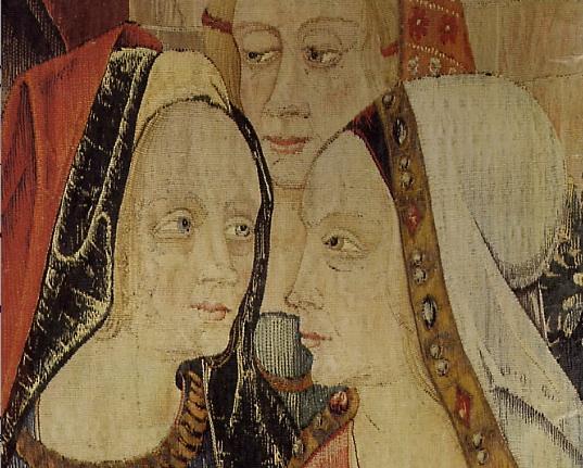 Womenunicornteapestry